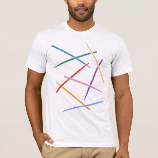 Buntes Schlagzeug T-Shirt