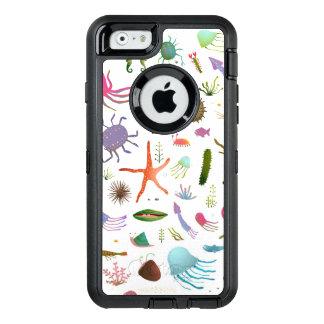 Buntes Seeleben OtterBox iPhone 6/6s Hülle