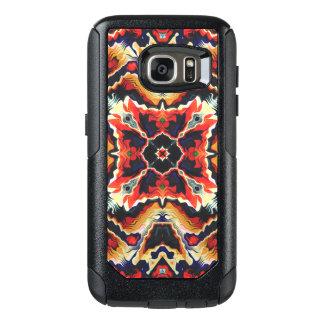 Buntes Stammes- geometrisches abstraktes OtterBox Samsung Galaxy S7 Hülle