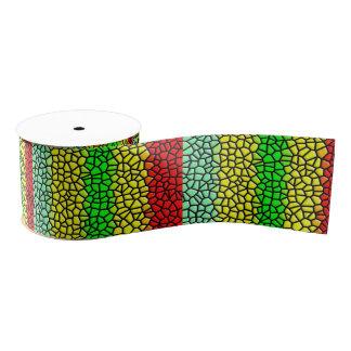buntes stilvolles Buntglas Ripsband