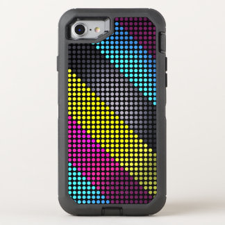Buntes Tupfen-Muster OtterBox Defender iPhone 8/7 Hülle