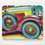 buntes Vintages Auto Mousepads