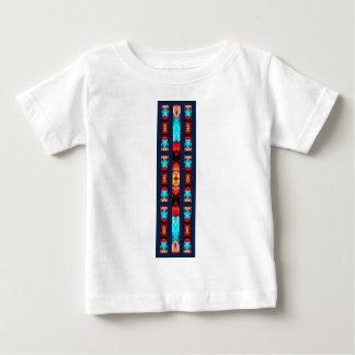 Buntglas-Edelsteine Baby T-shirt