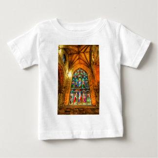 Buntglas-Fenster Baby T-shirt