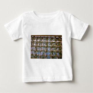 Buntglas-Fenster-Blöcke Baby T-shirt