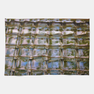 Buntglas-Fenster-Blöcke Geschirrtuch