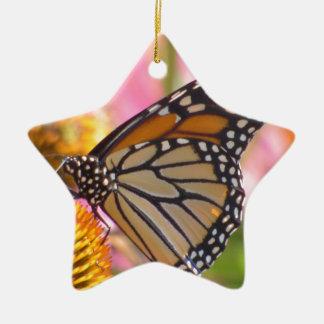Buntglas-Flügel Keramik Ornament
