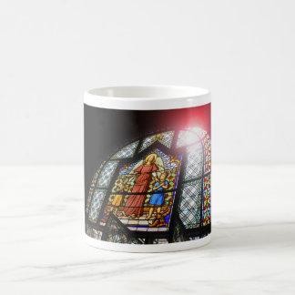 Buntglas Kaffeetasse