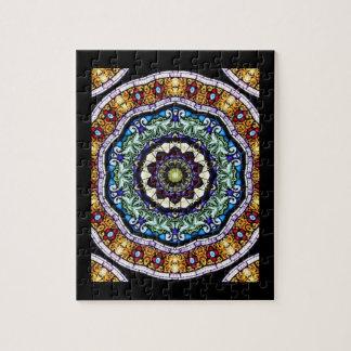 Buntglas-Kaleidoskop #2 Puzzle