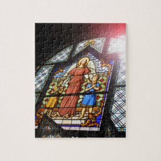 Buntglas Puzzle