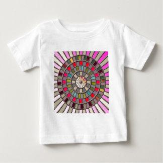 Buntglas-Roulette-Rad Baby T-shirt