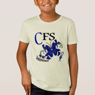 Buntglas-Schmetterling 2 CFS- T-Shirt