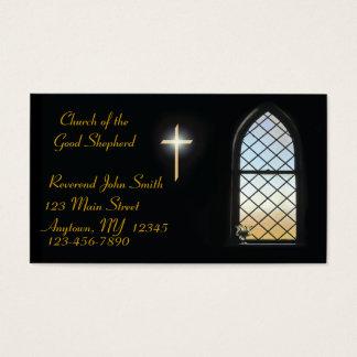 Buntglas-Visitenkarte Visitenkarten