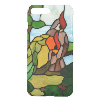 Buntglas-Vögel iPhone 8 Plus/7 Plus Hülle