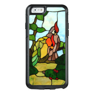 Buntglas-Vögel OtterBox iPhone 6/6s Hülle