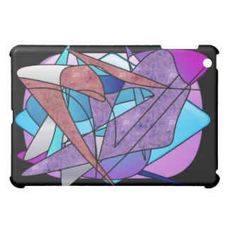 """Buntglaskunst IchAuflage Kasten """"des Fluges"""" - iPad Mini Hülle"""