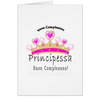 Buon Compleano Principessa Karte