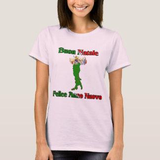 Buon Natale Felice Anno Nuovo T-Shirt