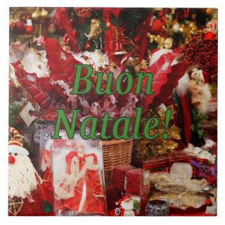 Buon Natale! Frohe Weihnachten im italienischen gf Keramikfliese
