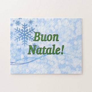 Buon Natale! Frohe Weihnachten im italienischen gf Puzzle