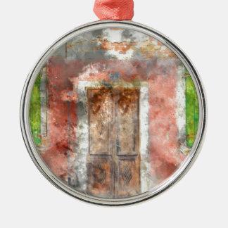 Burano Italien nahe Venedig Italien mit Silbernes Ornament