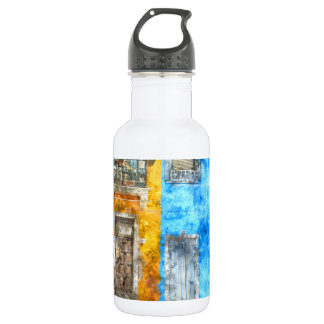 Burano Italien nahe Venedig Italien Trinkflasche