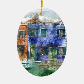 Burano nahe Venedig Italien Keramik Ornament