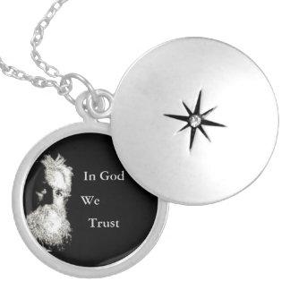 Burbank im Gott vertrauen wir Locket