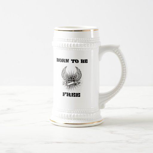 Burbank-Tasse geboren, frei   zu sein