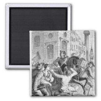 Burdett Aufstand, 1810 Quadratischer Magnet