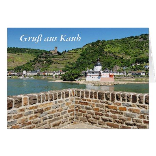 Burg Pfalzgrafenstein bei Kaub Karte