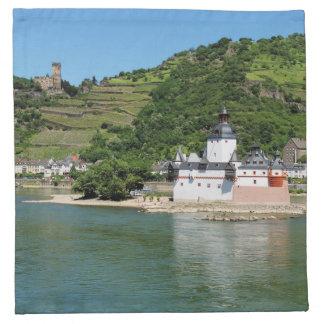 Burg Pfalzgrafenstein bei Kaub Serviette