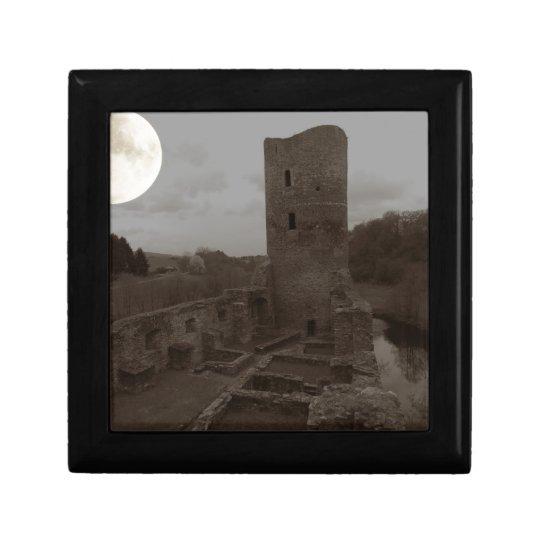 burg ruine erinnerungskiste