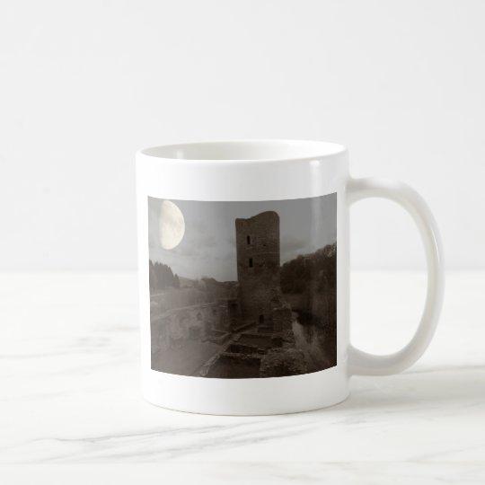 burg ruine kaffeetasse