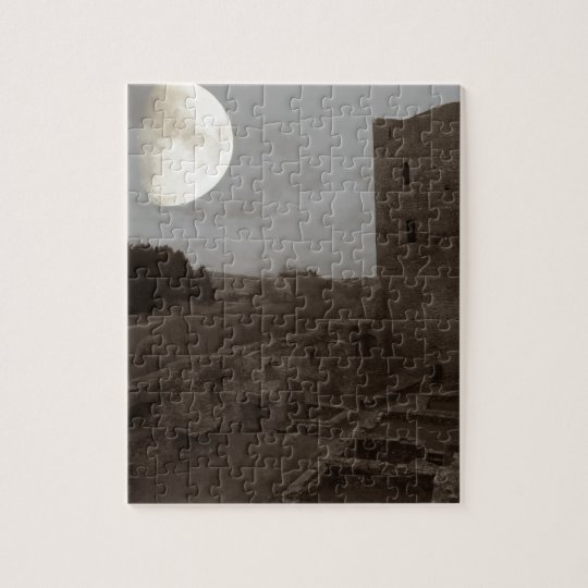 burg ruine puzzle