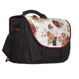 Burgendy Hintergrund des Rosenbordeaux Laptop Tasche