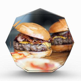 Burger Acryl Auszeichnung