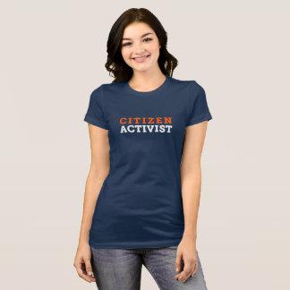Bürger-Aktivisten-T - Shirt (erstklassiges Shirt)