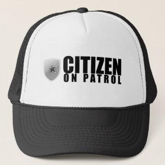 Bürger auf Patrouille Truckerkappe