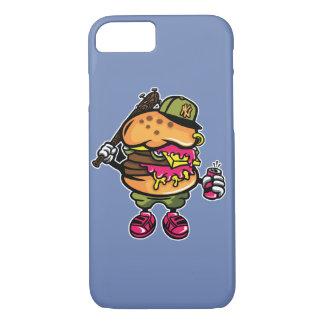 Burger-Baseball-glatter Telefon-Kasten iPhone 8/7 Hülle