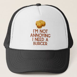 Burger Fast Food BBQ Barbecue Cheeseburger Truckerkappe