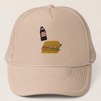 Burger-Kappe Truckerkappe