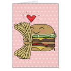 Burger-Liebe-Fischrogen Karte