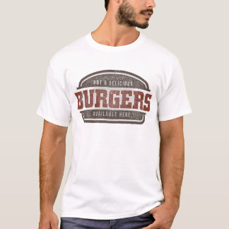 Burger-nobackground T-Shirt