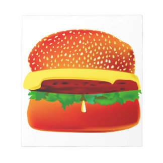 Burger Notizblock