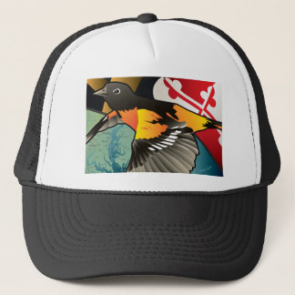 Bürger Oriole, Marylands Staats-Vogel Truckerkappe
