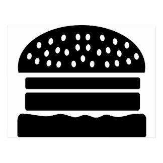 Burger Postkarte