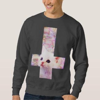 Burger-QuerSweatshirt Sweatshirt