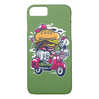 Burger-Roller-glatter Telefon-Kasten iPhone 8/7 Hülle