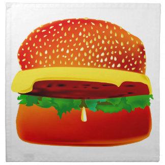 Burger Stoffserviette